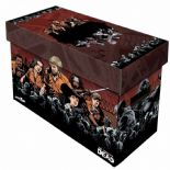 Comic Book Cardboard Storage Box with Walking Dead Compendium Artwork, holds 150-175 Comics